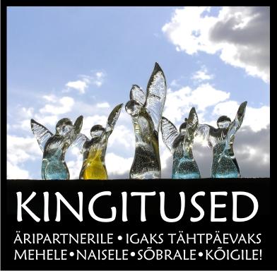 KINGITUSED igaks tähtpäevaks firmale, mehele, naisele - kõigile!